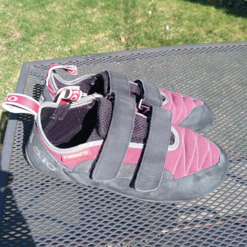 5.10 Stonemaster Size 8 Climbing Shoes w/ Stealth Rubber