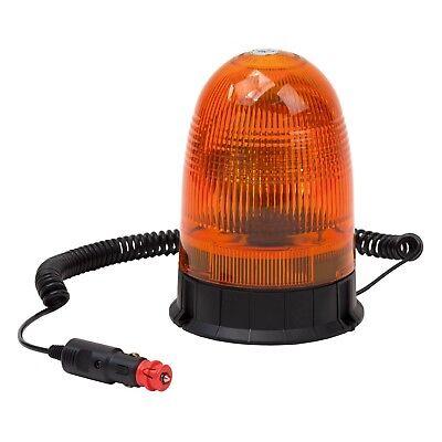 LED Rundumleuchte Gelb 12V mit Magnetfuß Warnleuchte Drehleuchte Rundumlicht