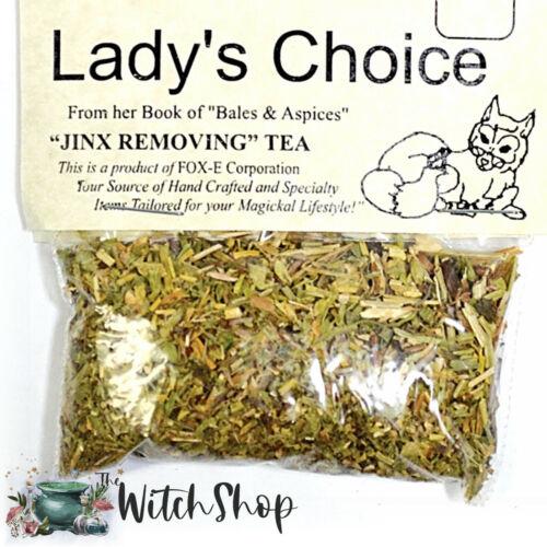 JINX REMOVING TEA Loose Herb Teas Wiccan Spell Altar Herbs Supplies
