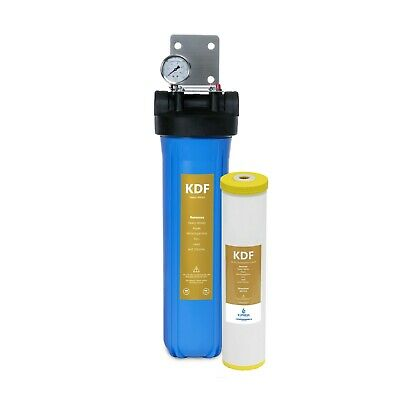 Heavy Metal Whole House Water Filter – Home Water Filtration System – with Gauge