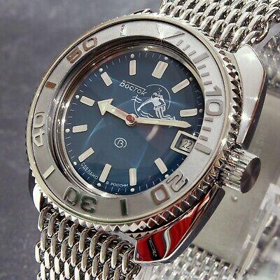 Vostok Amphibia 'Scuba Dude' Auto Dive Watch, New, Boxed, UK seller