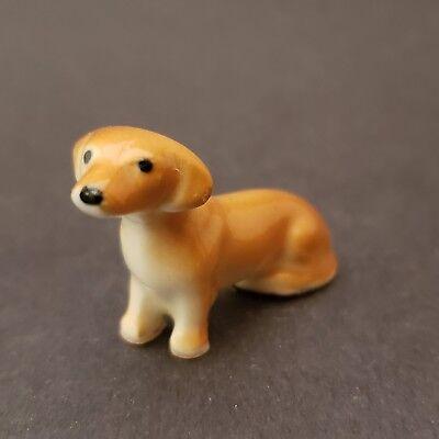 Hagen Renaker Dachshund Sitting Miniature Figurine Rare for sale  Powder Springs