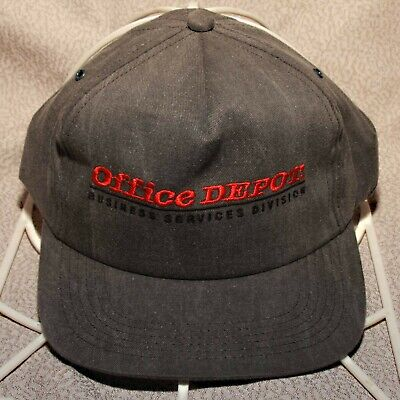 Office Trucker Hat (OFFICE DEPOT TRUCKER HAT CAP BUSINESS SERVICE DIVISION EMBROIDERED NEVER WORN  )
