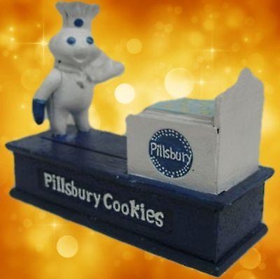 Spardose Pillsbury Cookies mechanische Weihnacht Geschenk Vintage Deko Spielzeug