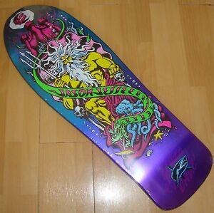 SANTA-CRUZ-Tabla-skate-Jessee-Jason-Caramelo-De-Neptuno-Violeta-Metalico-Fade