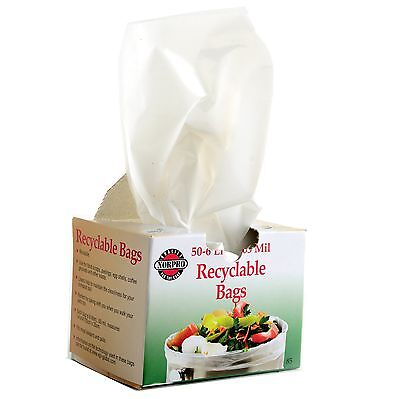 Norpro 85 Recyclable Garbage Compost Bags 50 ...