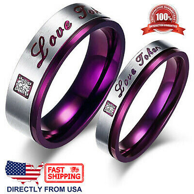 Couple's Matching Promise Ring