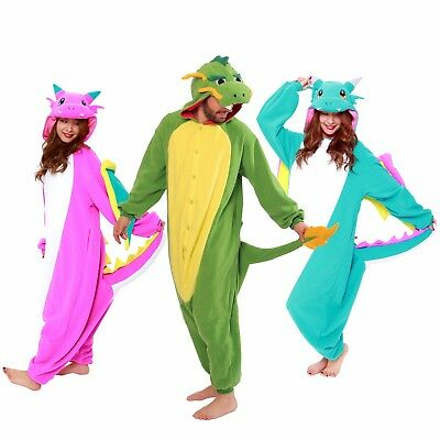 SAZAC Dragon Kigurumi - Adult Costume from USA](Adult Dragon Costume)