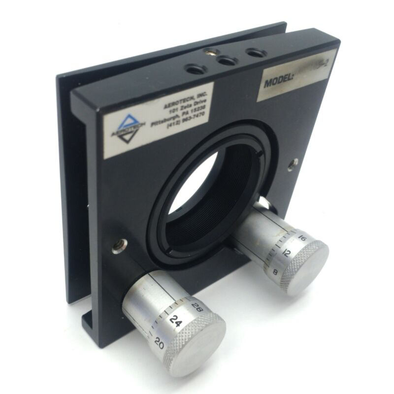 "Aerotech AOM105-2 Laser 2"" Mirror/Lens Mount, 1 3/4"" Aperture, ±5° Range"