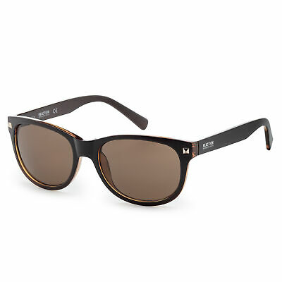Kenneth Cole KC1287-5648E Men's Shiny Brown (Kenneth Cole Sunglasses Mens)