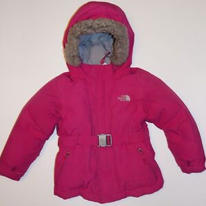 North Face Hyvent 550 Down Coat - 4T