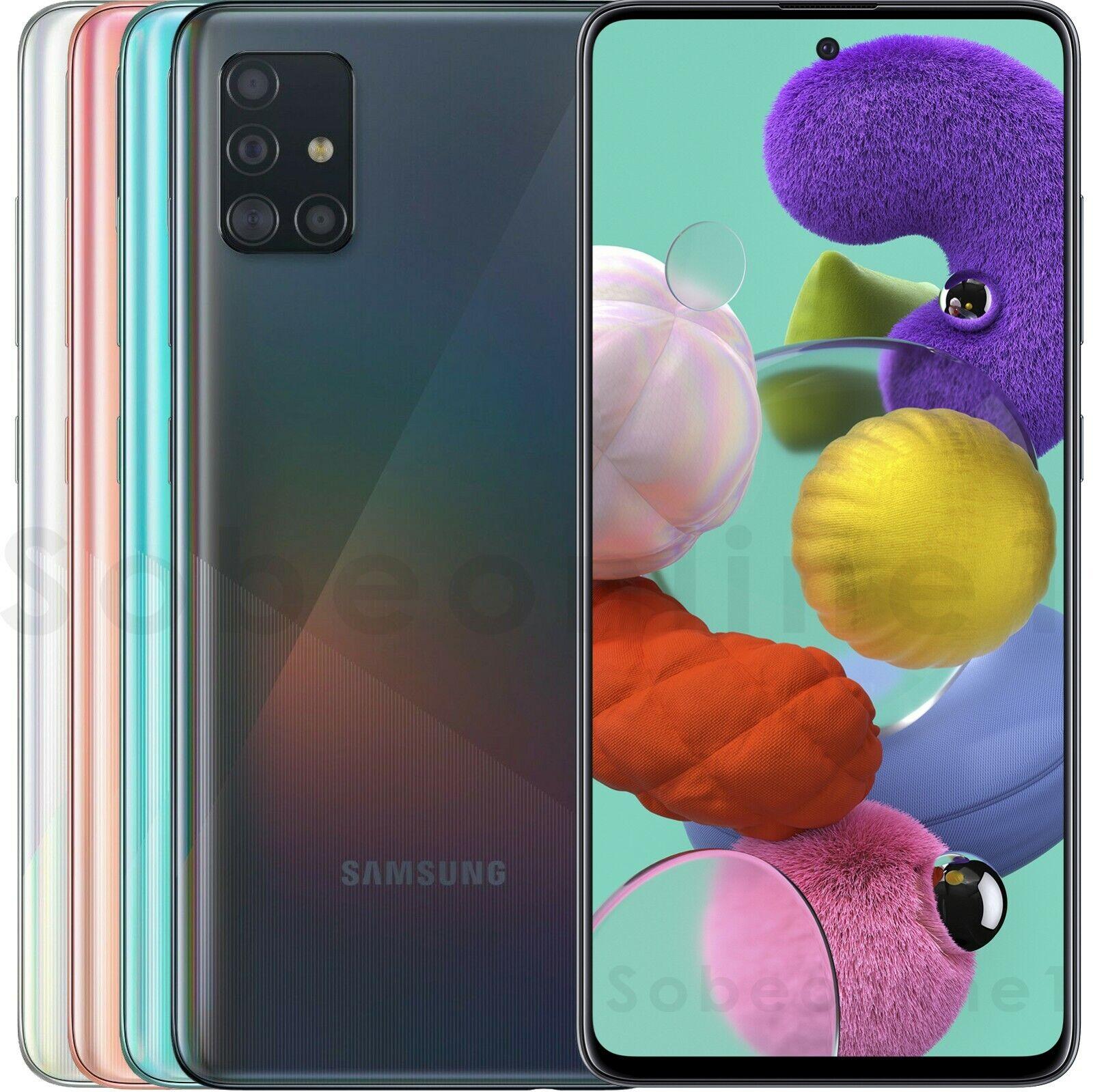 "Android Phone - Samsung Galaxy A51 128GB 4GB RAM SM-A515F/DS Dual Sim (FACTORY UNLOCKED) 6.5"""