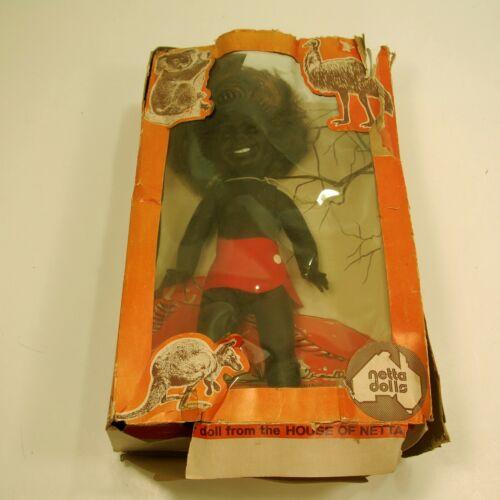 "Rare Netta Dolls made in South Australia 13"" tall 1960"