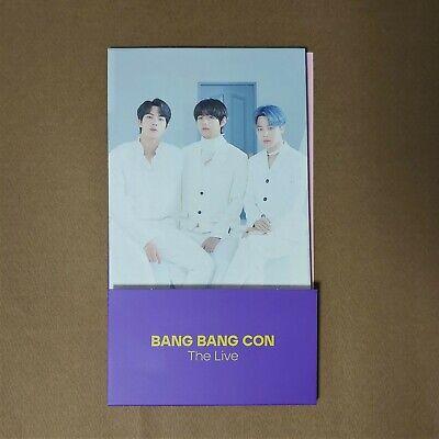 OFFICIAL BTS [BANG BANG CON THE LIVE] 2-SIDE PHOTO JIN,JIMIN,V