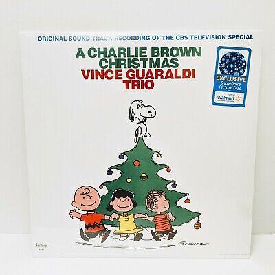 Vince Guaraldi Trio - A Charlie Brown Christmas Exclusive Snowflake LP Vinyl NEW ()