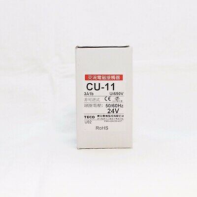 Teco Cu-11 Magnetic Contactor 24v Coil 3a1b Nc Replaces Taian Cn-11