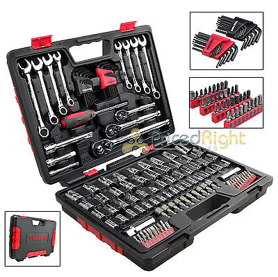 135 PC Piece Wrench Socket Screwdriver Tool Set Kit Mechanics Tekton 1859 Pro