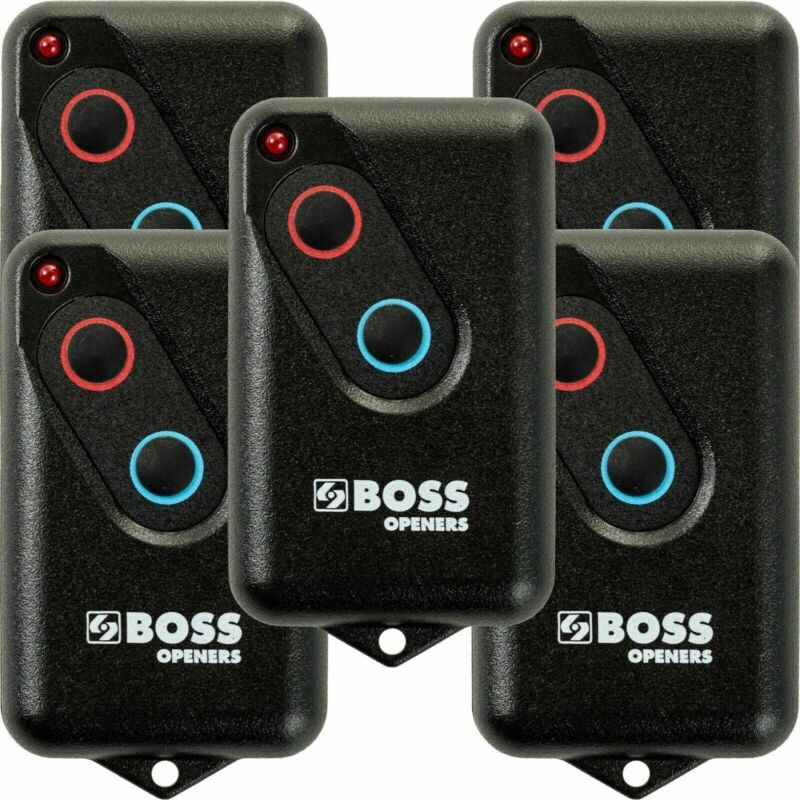 Garage Door Remote Guardian Suits Boss BHT4 Steel-Line 2211-L 2211L (TX) 5 Pack
