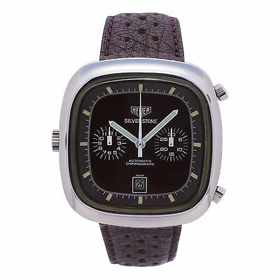 TAG HEUER SILVERSTONE VINTAGE BORDEAUX 110.313 MENS AUTOMATIC WATCH 40MM