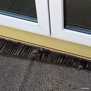 gold cill protector anti slip aluminum cover door window. Black Bedroom Furniture Sets. Home Design Ideas