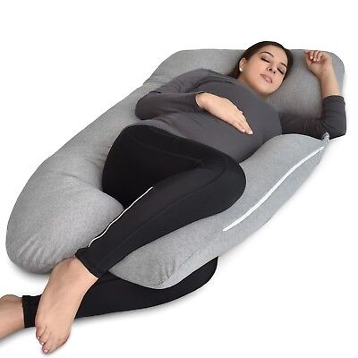 U-Shaped Full Body Pillow, U Shaped Pregnancy Pillow & Maternity Support