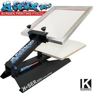 K ser zero screen printing t shirt press printer for Commercial shirt printing machine