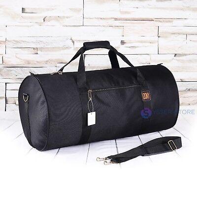 24 in Duffle Barrel Travel Bag Carry on Maletin de Mano Negro Black segunda mano  Embacar hacia Argentina