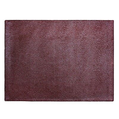 """Seneca Faux Leather Placemats. 11""""x17"""" Placemats Set of 4Machine Washable for sale  Shipping to Nigeria"""