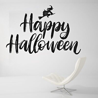 Halloween Live Wallpaper (Happy Halloween Wall Decal Living Room or Outside Wall Paper Sticker)