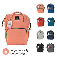 Mommy Diaper Bag Large Capacity Baby Nappy Maternity Travel Backpack Tote