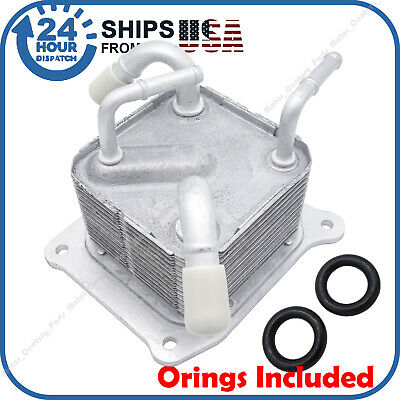 OE Oil Cooler fits Nissan CVT Transmission Trans-axle Heat Exchanger 21606-3JX2C ()