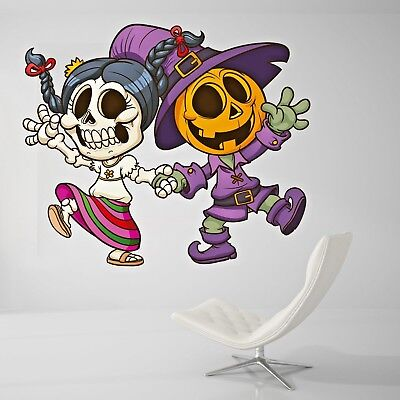 Happy Halloween Wall Decal For Home Wall Paper Sticker J469](Wallpaper For Halloween)