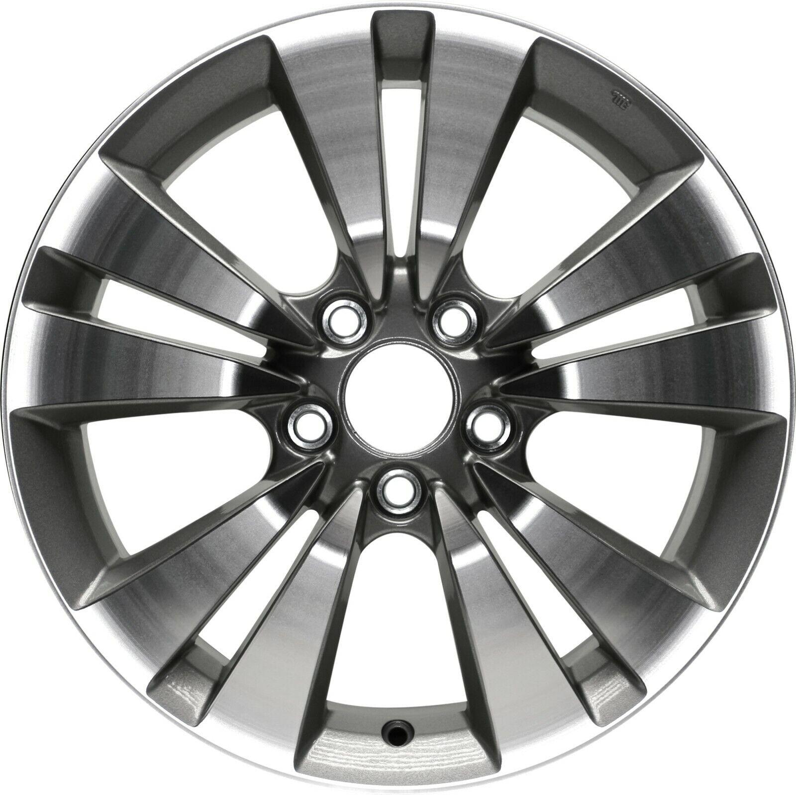 "Fits:New 17/""x6.5/"" 5Lug Hyundai Sonata 06-10 Aluminum Replica Wheel Rim 5x114.3"