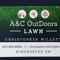 Lawn maintenance and  ice control snow removal