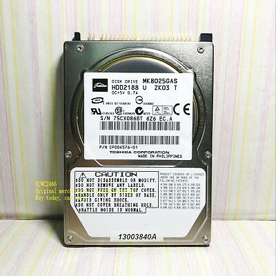 Toshiba 80GB Internal 4200RPM 2.5