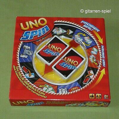 UNO Spin - Die neue Generation des klassischen Kartenspiels Mattel ©2010 1A Top!
