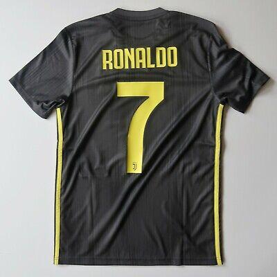 Cristiano Ronaldo Juventus Shirt 2018 2019 3rd Third S Jersey Adidas Football  image