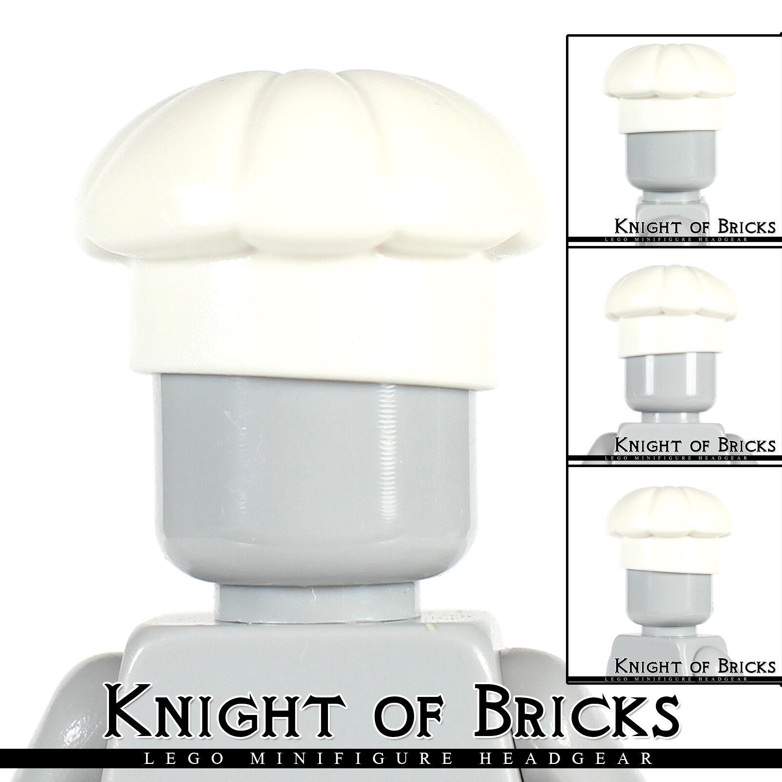 Lego Minifigure Headgear Helmet Hat Grey Bonnet Knit Cap 41334 Free Shipping!