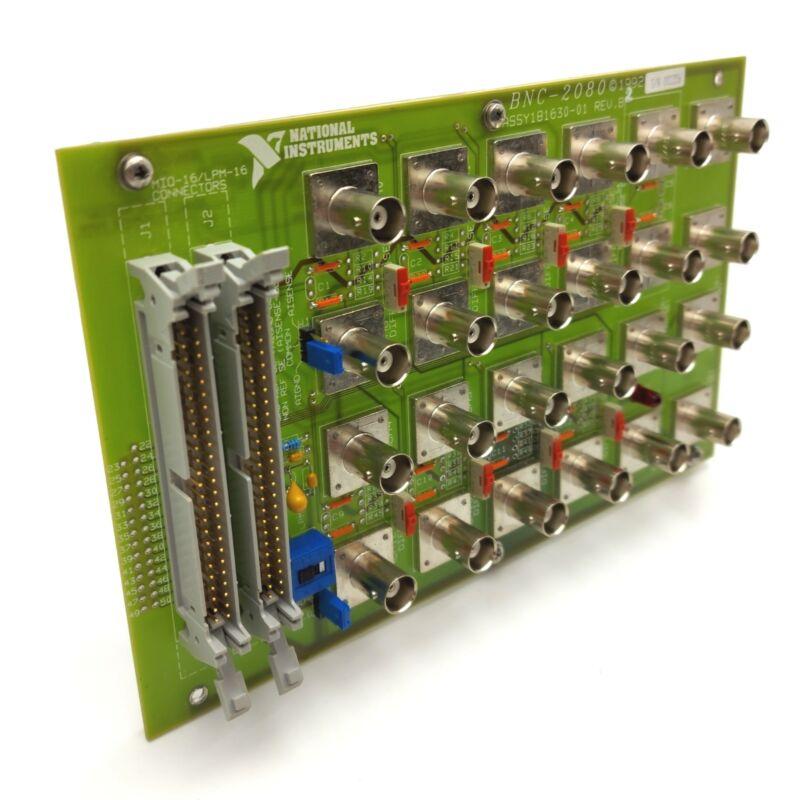National Instruments BNC-2080 Analog Break Out Board, 24x Female BNC, 2x IDC50