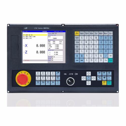 Best price 2 Axis CNC Lathe Controller CNC990TDb English panel +MPG+Relay box
