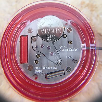 Cartier Calibre 690 Movement - 3.3mm Height - Replacement for ca. 90