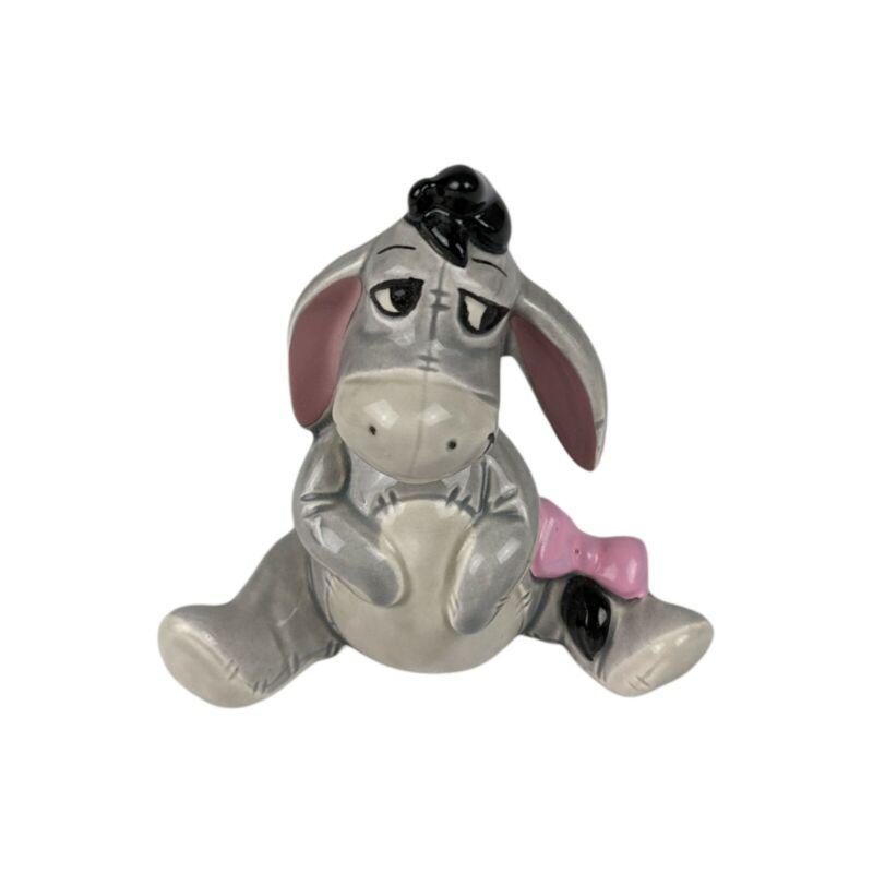 """Vintage Disney """"Winnie The Pooh"""" EEYORE 3"""" Ceramic Figure Figurine Made In Japan"""