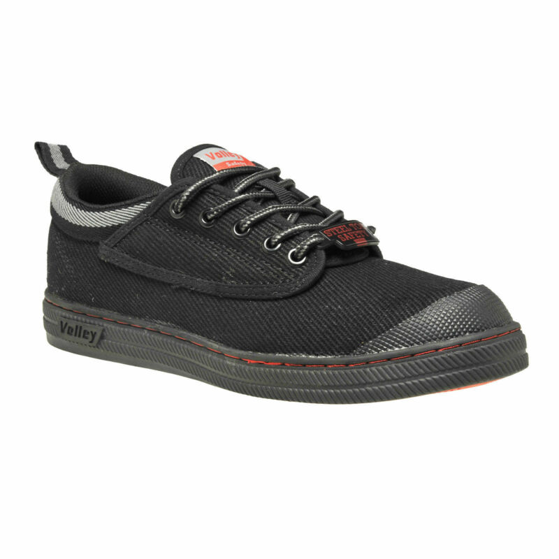 Dunlop Volley Original Black Classic Work Boots. Safety Steel Toe ... d698606bb6e