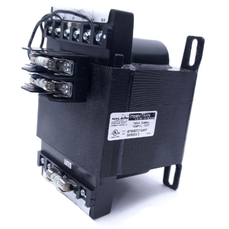 Micron ImperviTRAN B750BTZ13JKF Series 2 Industrial Control Transformer, 750 VA