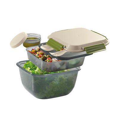 CILIO Lunchbox FRESH mit unterteiltem Einsatz und Kühlakku 1,5 Liter