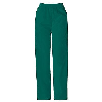 Dickies vert chasseur Gommage pantalon taille élastique médical Vêtement XS à