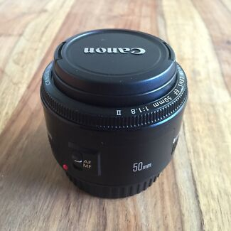Canon 50mm 1.8 II Lens  Curl Curl Manly Area Preview