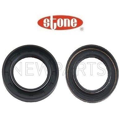 (Pair Set of 2 Axle Shaft Seals for Acura Integra Honda Civic Manual Transmission)