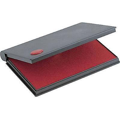 """RED Stamp Pad Size #2, Large  (6-1/4"""" x 3-1/4"""") 2000 Plus"""