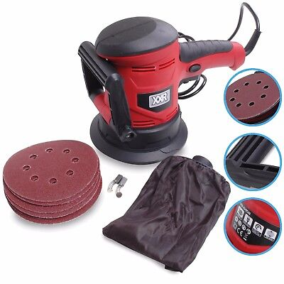 450w ELECTRIC ROTARY RANDOM ORBITAL HANDHELD DISC POLISHER SANDER POWER TOOL KIT